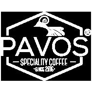 PAVOS Coffee Shop Logo